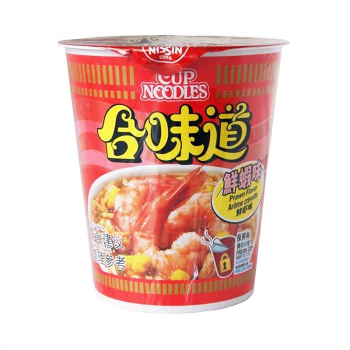 Nissin Cup Prawn Flavour 73g