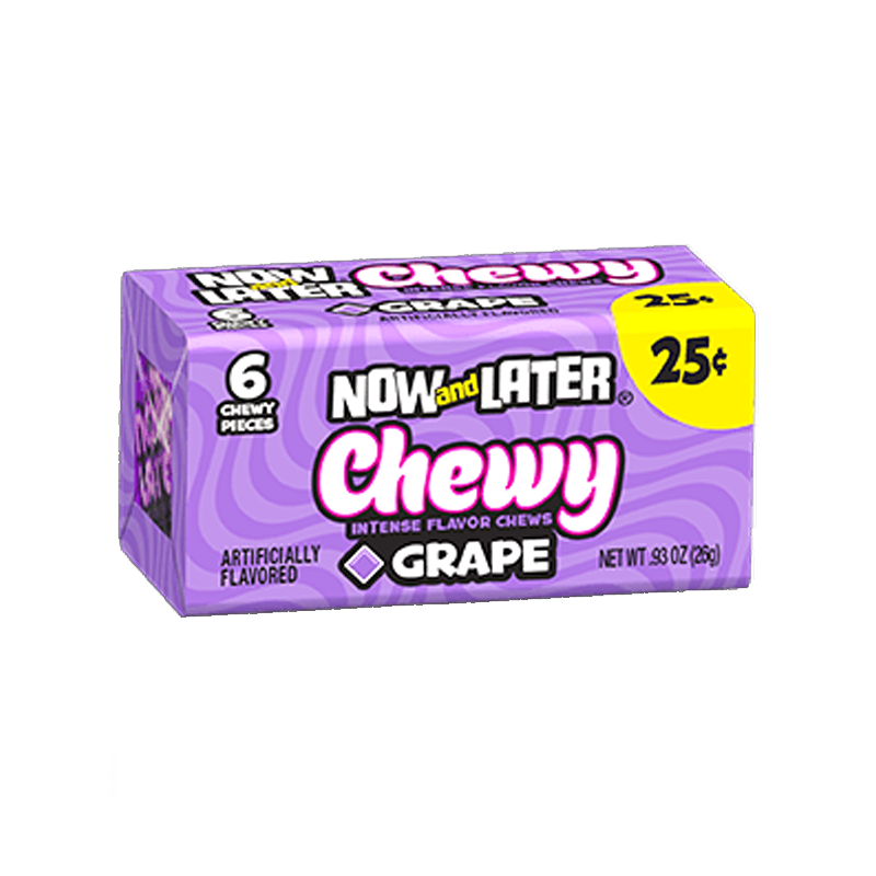 Now & Later Grape 26g