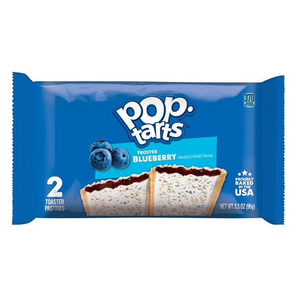 Pop Tarts 2 Pack Blueberry