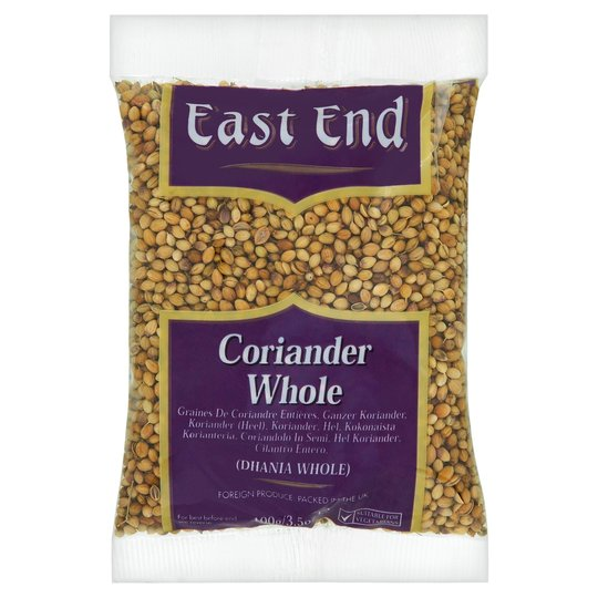 East End Coriander Whole 100g