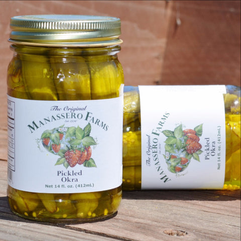 Manassero Farms Pickled Okra