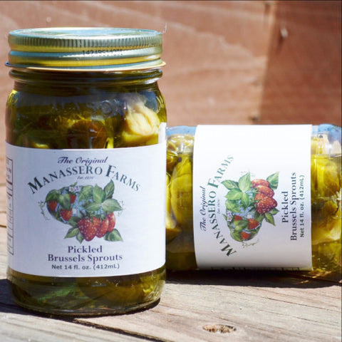 Manassero Farms Pickled Brussels Sprouts