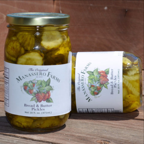 Manassero Farms Bread & Butter Pickles