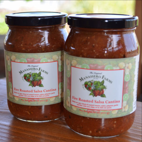 Manassero Farms Salsa Varieties