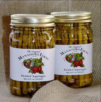 Manassero Farms Pickled Asparagus