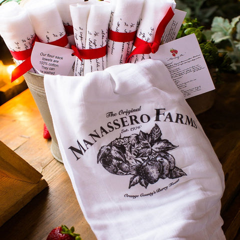 Manassero Signature Kitchen Towels