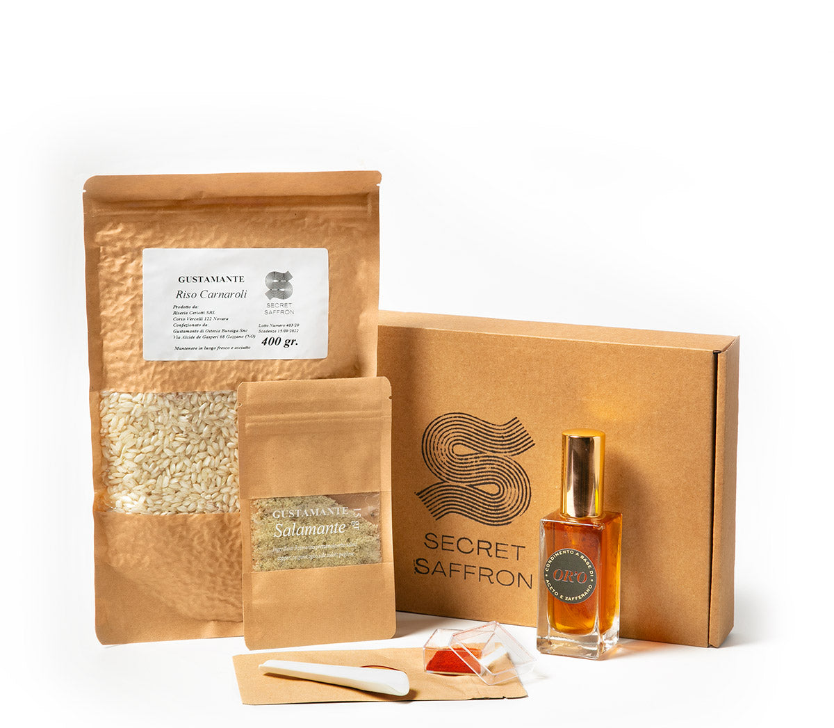 Secret Saffron Box - Kit risotto alla milanese - Fast delivery