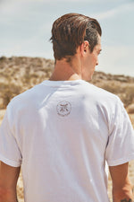 Sun and Loom - Desert Muse Tee - White - Male Model