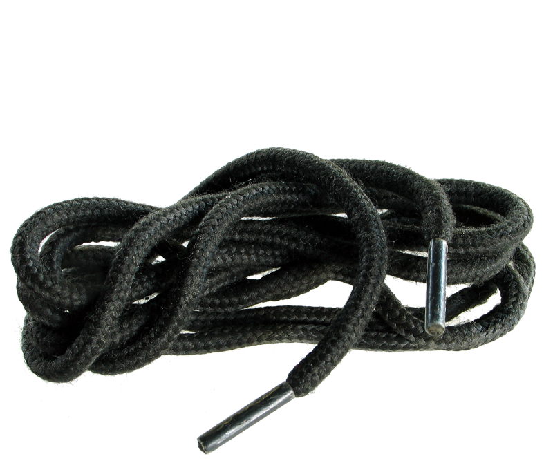 4mm Flame Retardant Laces 195cm Black Standard