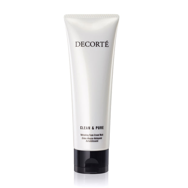 Decorté Cosmetics UK CLEAN & PURE REFRESHING FOAM-CREAM WASH