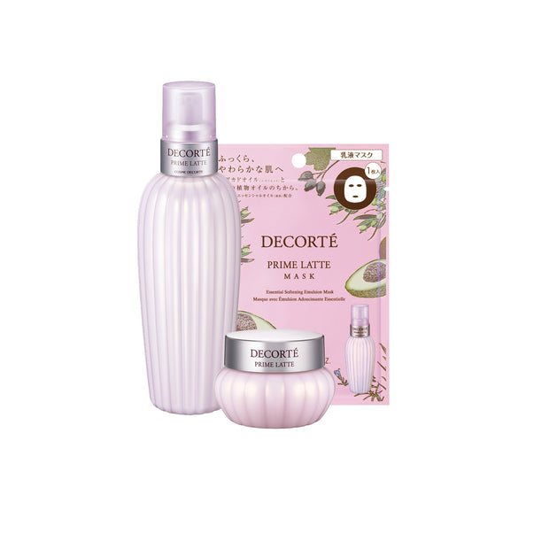 Prime Latte 300ml + Prime Latte Cream + Prime Latte Mask Bundle