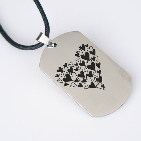 A Whole Lotta Love Pendant pendant Stainless Steel USA