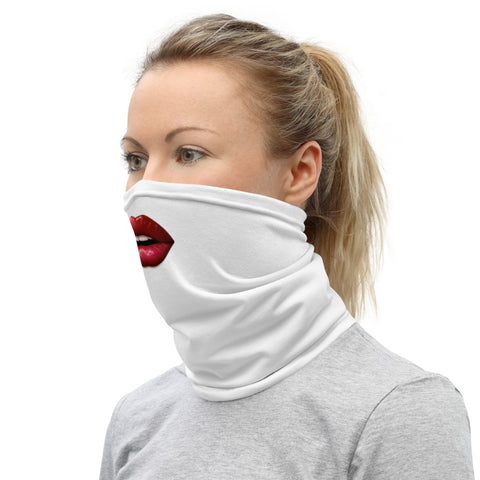 Image of Red Lip Neck Gaiter