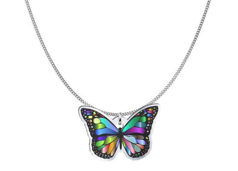 Design Your Own Jewelry like this Butterfly Necklace and Pendant pendant