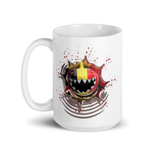 Germany Flag. Patriotic Shark. Tea or Coffee Mug