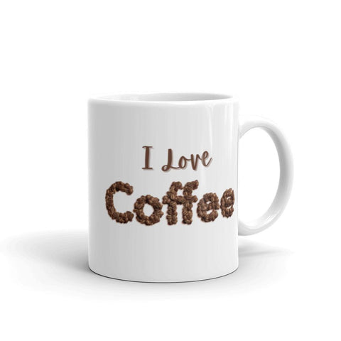 Image of I Love ❤️ Coffee Mug 11oz