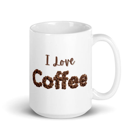 Image of I Love ❤️ Coffee Mug 15oz
