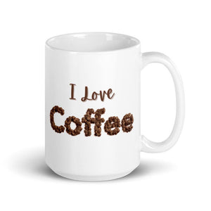 I Love ❤️ Coffee Mug 15oz