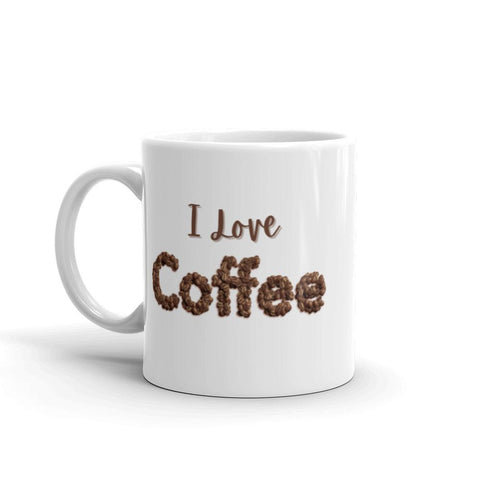 Image of I Love ❤️ Coffee Mug