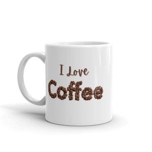 I Love ❤️ Coffee Mug