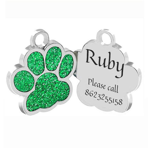 Love Your Pet With a Colorful Personlized Pet Tag dogtag