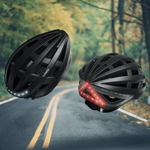 Image of Lumos Kickstart Bicycle Helmet for Freedom, Exercise, Safety, & Style!