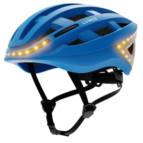 "Image of Lumos Kickstart Bicycle Helmet for Freedom, Exercise, Safety, & Style! Cobalt Blue Standard 21.3"" - 24""/ 54cm - 61cm"