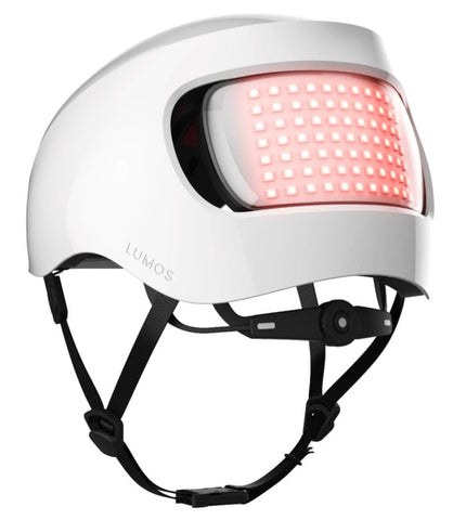 "Lumos Matrix Bicycle Helmet for Safety, Protection, & Style White Standard One Size M-L 22"" - 24"" (56cm - 61cm)"