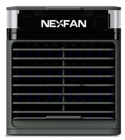 Image of NexFan Ultra. It cools, humidifies, purifies, disinfects, and soothes Black