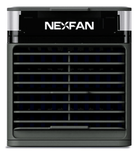 NexFan Ultra. It cools, humidifies, purifies, disinfects, and soothes Black