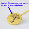 Design Your Own Gold Pendant!