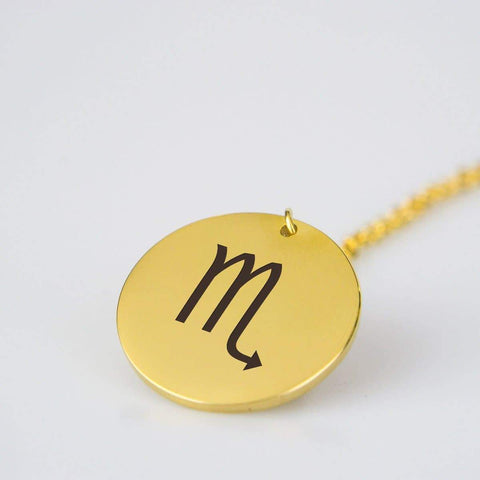 Scorpio Astrological Star Sign Pendant Charm and Necklace pendant