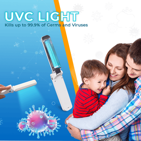 Image of Ultraviolet (UVC) Disinfectant & Sanitizer Lamp Ultraviolet Lamps