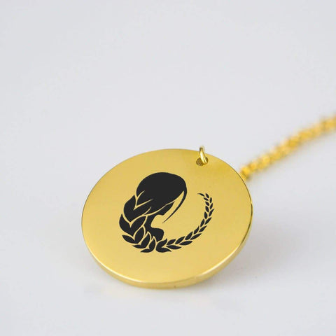 Image of Virgo Horoscope Star Sign Pendant Charm and Necklace pendant