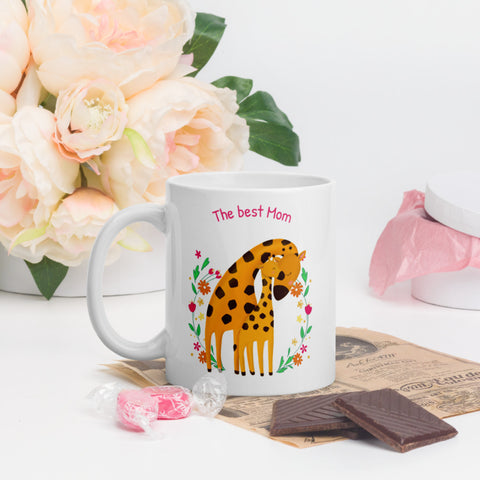 Image of The Best Mom Tea or Coffee Mug