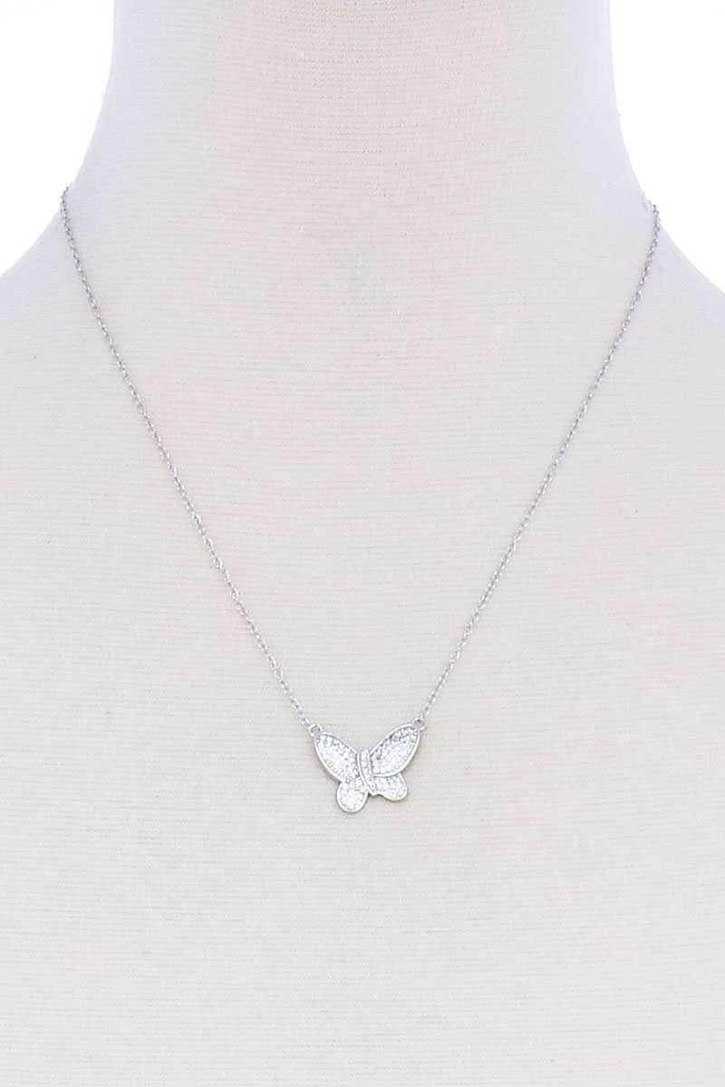 Cute Butterfly Chic Necklace - RisaRose Luxury Shop