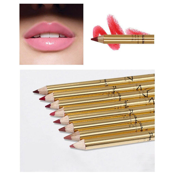 8 Colors Lipliners Set - RisaRose Luxury Shop