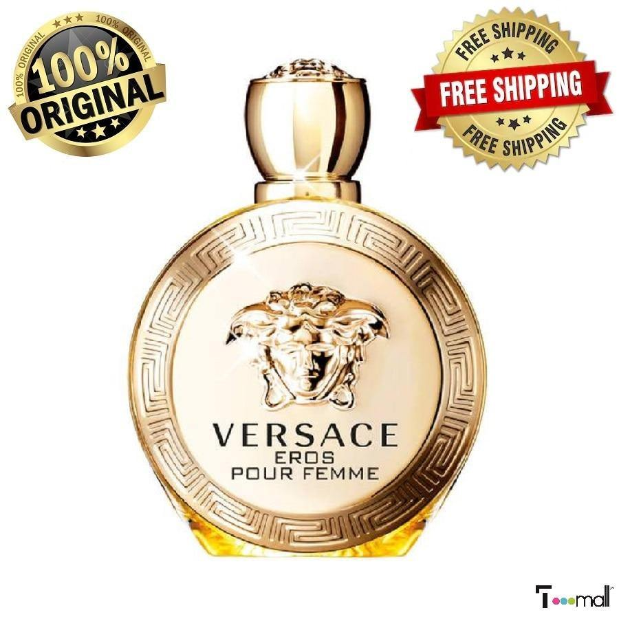 VERSACE EROS POUR FEMME EDP 100 ML WOMEN'S PERFUME - RisaRose Luxury Shop