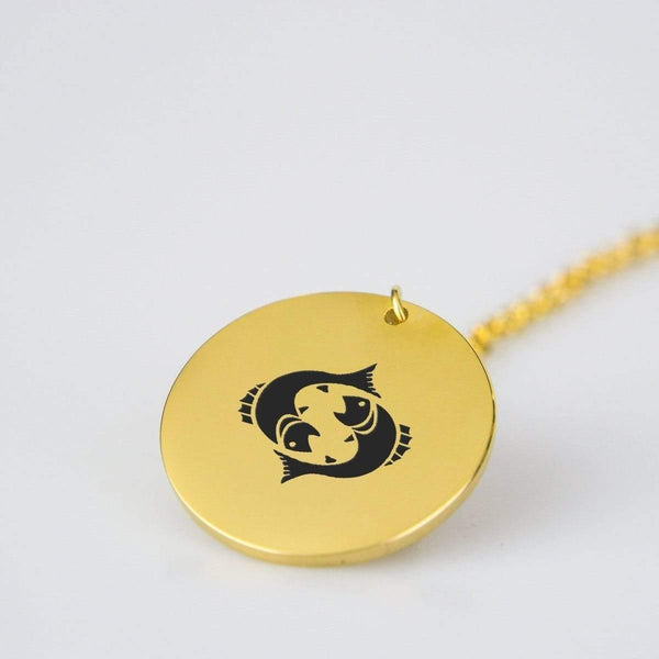 Pieces Gold Pendant - RisaRose Luxury Shop