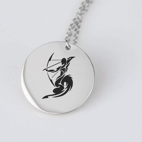 Sagittarius Gold Pendant - RisaRose Luxury Shop