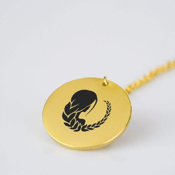 Virgo Gold Pendant - RisaRose Luxury Shop