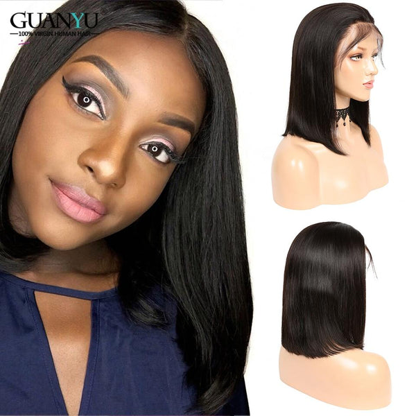 Lace Front 13X4 Pre Plucked Ombre Short Bob Wigs Remy - RisaRose Luxury Shop