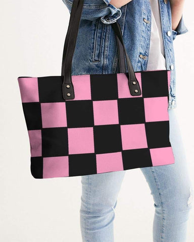 RRLS CHECKS Stylish Tote - RisaRose Luxury Shop