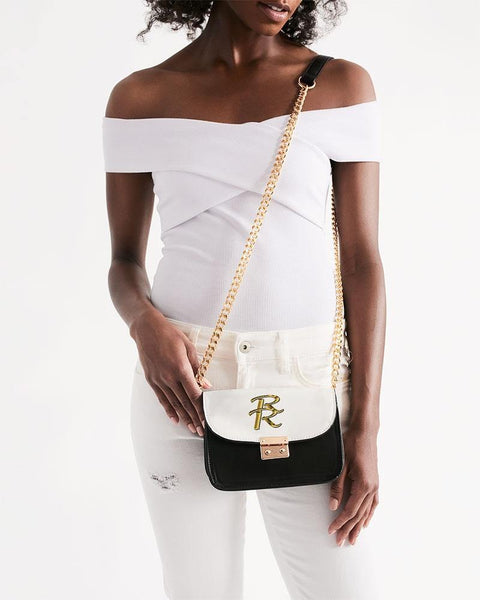RRLS Logo 2 Small Shoulder Bag - RisaRose Luxury Shop