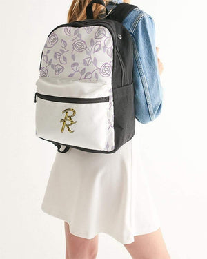 RisaRose Luxury Shop accessories Universal RRLS Rose Small Canvas Backpack