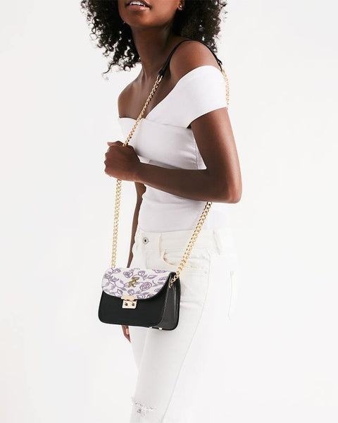 RRLS Rose Small Shoulder Bag - RisaRose Luxury Shop