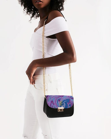 RRLS SWIRL Small Shoulder Bag - RisaRose Luxury Shop