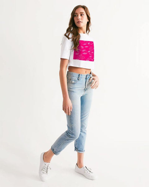 RRLS3.0 Women's Cropped Tee - RisaRose Luxury Shop