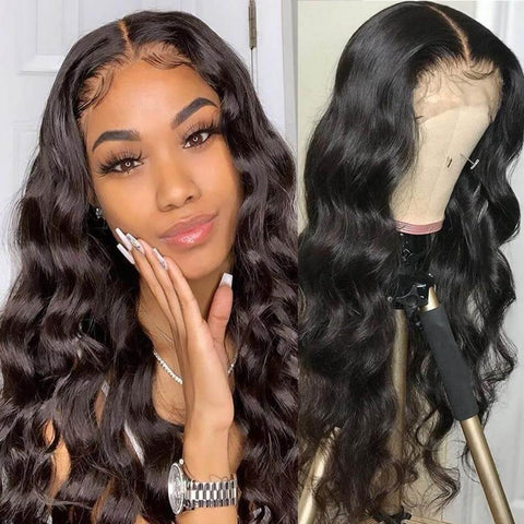 13x6 Lace Front Wig Preplucked Body Wave- Brazilian Hair - RisaRose Luxury Shop