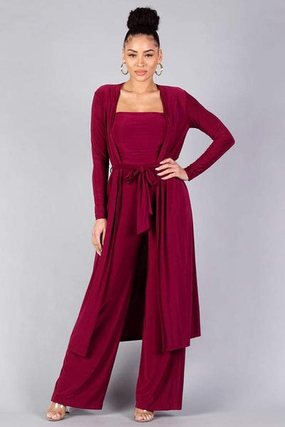 Sexy Silky Belted Robe - RisaRose Luxury Shop